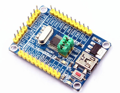 ARM Cortex-M0 STM32F030F4P6 controller board with ST-Link